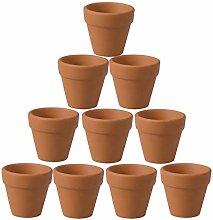 Cabilock 20 Pezzi di Terracotta Vasi di Terracotta