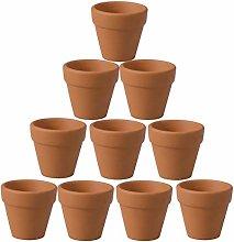 Cabilock 20Pcs Vasi di Terracotta di Terracotta