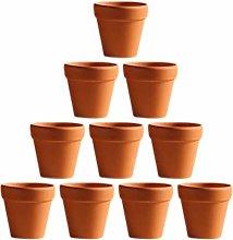 Cabilock 20Pcs Vasi di Terracotta in Terracotta