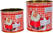 Cabilock 2PCS di Natale del Biscotto Scatole di