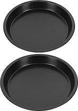 Cabilock 2Pcs Non- Stick Rotonda Pizza Pan in