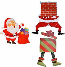 Cabilock 3Pcs Natale Giardino Pali Impermeabile