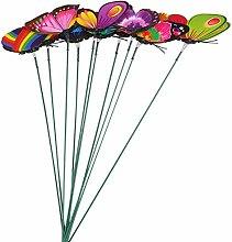 Cabilock 40Pcs Farfalla Bastone Farfalle
