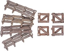 Cabilock 8 pezzi in miniatura naturale di fata da