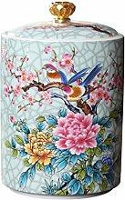 Cabilock Barattolo per tè, in ceramica, con