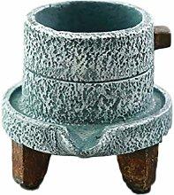 Cabilock Creativo Planter Pot Mulino in Pietra