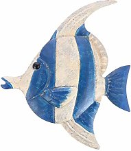 Cabilock Decorazione da Parete Pesce in Metallo