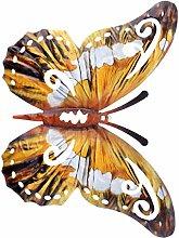 Cabilock Farfalla in Metallo Decorazioni da Parete