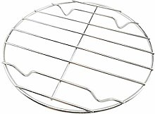 Cabilock, griglia rotonda in acciaio inox, per