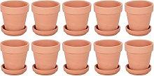 Cabilock Mini Vasi di Terracotta Vaso di
