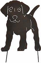 Cabilock Ornamento da Giardino in Ferro per Cani