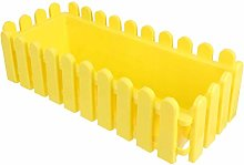 Cabilock Recinzione in Plastica Vaso da Fiori Vaso