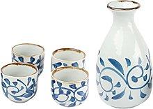 Cabilock Set di tazze da tè in ceramica