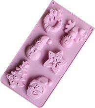 Cabilock - Stampo in silicone per Natale, per