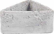 Cabilock Triangolare di Cemento Vaso di Fiori