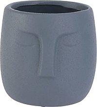 Cabilock Vasi di Terracotta Volto Umano Vaso