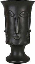 Cabilock - Vaso da fiori in ceramica, con testa di