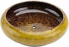 Cabilock Vaso da fiori in ceramica per bonsai, per