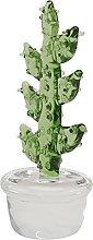 Cabilock Vetro Cactus Figurine Statua Pianta