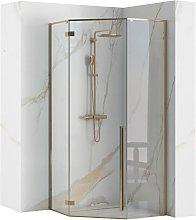 Cabina doccia DIAMOND GOLD  90x90