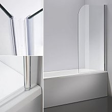Cabina doccia Melko Piano vasca da bagno in vetro