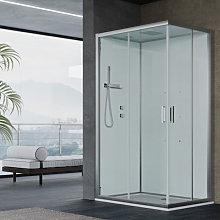 Cabina doccia multifunzione Ercole cm 120x80 con