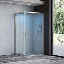 Cabina doccia multifunzione Ercole Plus cm 100x80