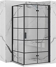 Cabina doccia Rea Molier Black  80