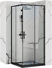 Cabina doccia Rea Punto Black 90x90