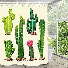Cactus Cactus fiore semplice tenda doccia tenda