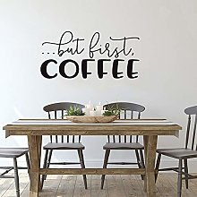 Caffè Adesivo murale Adesivo murale Testo Vinile