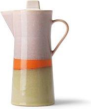Caffettiera in ceramica anni '70