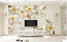 Caldo giallo 3D tridimensionale fiore farfalla TV