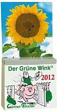 Calendario 2012 del verde