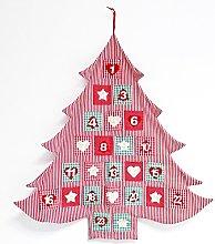 Calendario Natale 78X72 Cotone