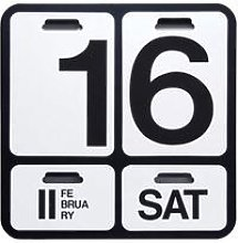Calendario perpetuo FORMOSA, nero