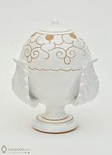 CALICANTO - Pumo bomboniera ceramica