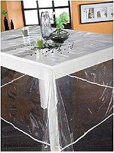 Calitex, Tovaglia in plastica, rettangolare, 140 x