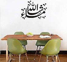 Calligrafia Adesivo Islamico Vinile Finestra