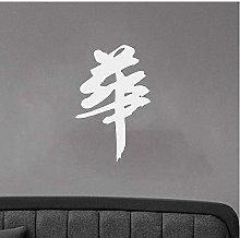 Calligrafia Cinese Decorazione Ornato Murale