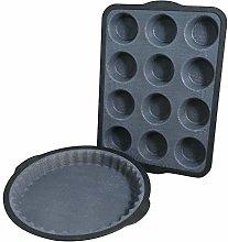 Camilla Gift Set crostata 25 cm e teglia muffin a