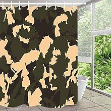 Camouflage personalità semplice tenda doccia