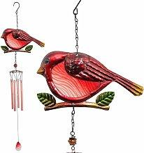 Campanelli eolici per uccelli rossi, campanelli