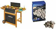 Campingaz Adelaide 3 Woody Barbecue a Gas, Scuro &