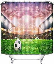 Campo di calcio prato tramonto Tenda doccia bagno