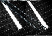 Canalina Doccia Cieca Sifone Gravitazionale E