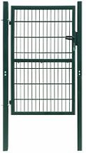 Cancello Staccionata 2D (Singolo) Verde 106 x 190