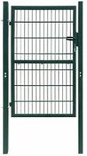 Cancello Staccionata 2D (Singolo) Verde 106 x 230