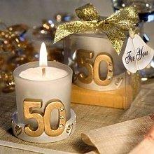 Candela per matrimonio 50° anniversario in