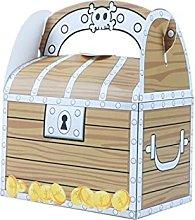Candy Box 6pcs Treasure Tort Treat Boxes Halloween